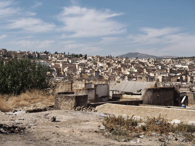 Deep in the heart of the Medina, Fez
